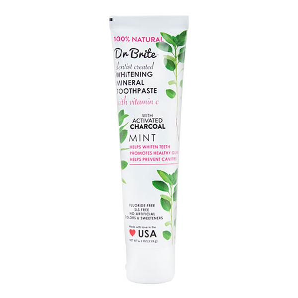 Dr. Brite 232132 4.2 oz Natural Whitening Mineral Toothpaste Mint
