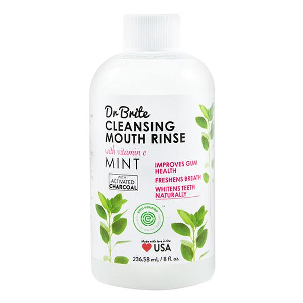 Dr. Brite 232134 8 fl oz Oral Care Cleansing Mouth Rinse Mint