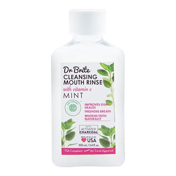 Dr. Brite 232135 3.4 fl oz Cleansing Mouth Rinse Mint