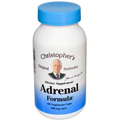 Dr. Christophers Formulas Adrenal Formula - 400 mg - 100 Caps