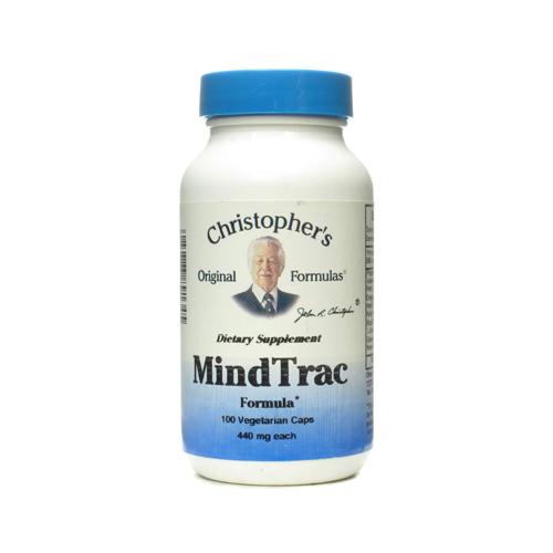 Dr. Christophers Formulas ECW757815 Mindtrac capsules