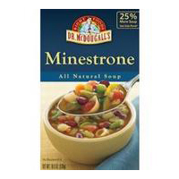 Dr. Mcdougalls Ready To Serve Aseptic Soups Minestrone Atleast 95% Organic 17.6 Oz [] -Pack of 6