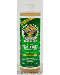 Dr. Woods 0772012 Pure Castile Soap Tea Tree - 16 fl oz
