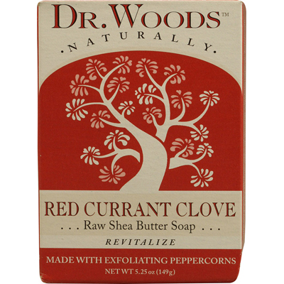 Dr. Woods Naturals 1053206 Naturally Bar Soap Red Currant Clove - 5.25 oz