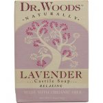 Dr. Woods Naturals 1076744 Naturally Castile Bar Soap Lavender - 5.25 oz