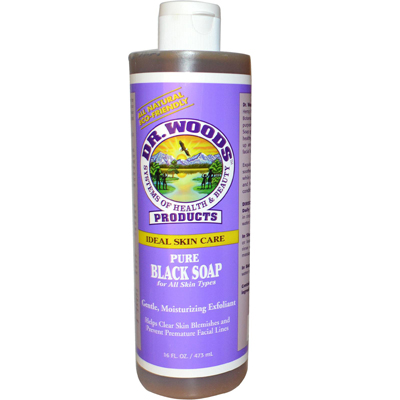 Dr. Woods Pure Black Soap - 16 fl oz