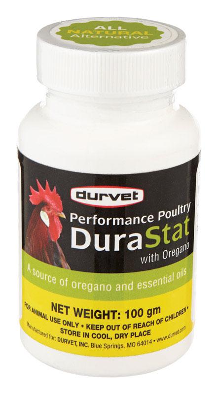 Durvet 7412844 100 gm DuraStat Vitamins for Poultry