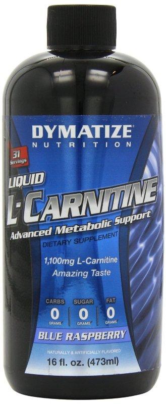 Dymatize Nutrition Liquid L-Carnitine Blue Raspberry 16 oz - DYMALCARBLUE0016OZ