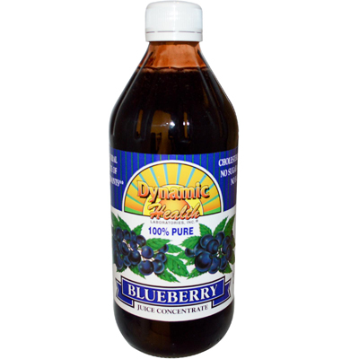 Dynamic Health 0826552 Blueberry Juice Concentrate - 16 fl oz