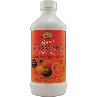 Dynamic Health Liquid Vitamin C Natural Citrus - 1000 mg - 8 fl oz