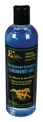 E3 100012 Horse Liniment Gel 12 oz