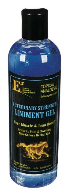 E3 100012 Horse Liniment Gel 12 oz
