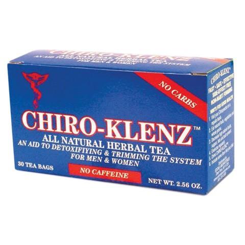 EDOM Laboratories EDOE2860001 Chiro-Klenz All Natural Tea Original 30 Count