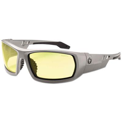 EGO 50150 Skullerz Odin Safety Glasses Gray Frame - Yellow Lens