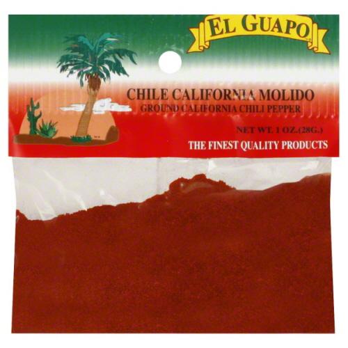 EL GUAPO CHILI PPPR CALIF-1 OZ -Pack of 12