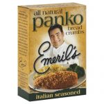EMERILS BREADCRUMB PANKO ITALIAN-8 OZ -Pack of 6