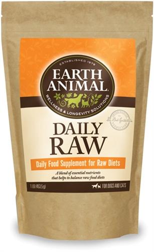 Earth Animal 857253003452 Raw Complete Powder 16 oz