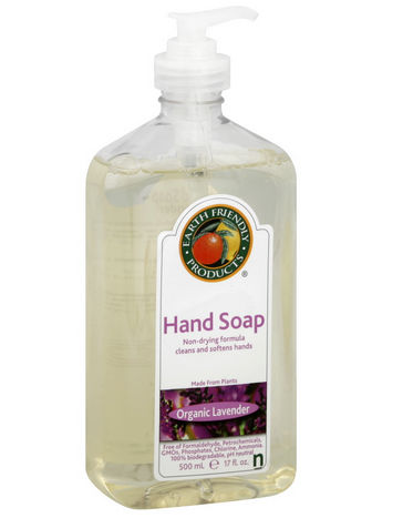 Earth Friendly Products 966506 Hand Soap Lavender 17 oz - Case of 6