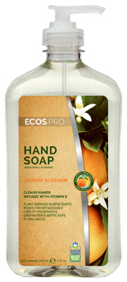 Earth Friendly Products PL9484-6 17 oz. Orange Blossom Hand Soap