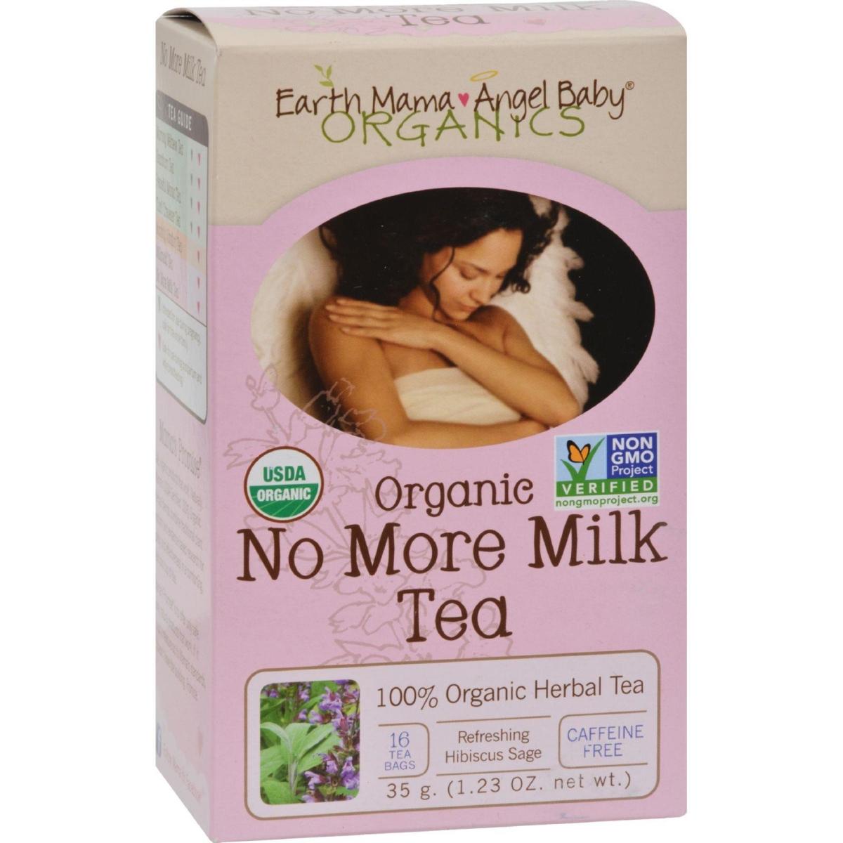 Earth Mama Angel Baby HG0849067 Organic No More Milk Tea - 16 Tea Bags