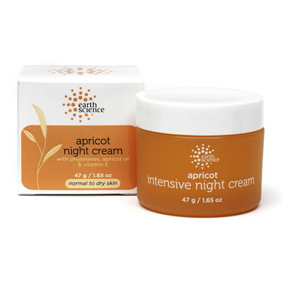 Earth Science Intensive Night Creme Apricot - 2 Oz