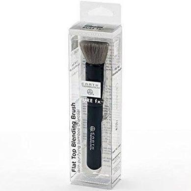 Earth Therapeutics 232961 PureFX Charcoal Flat Top Blending Brush