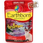Earthborn 40071622 3 oz Grain-Free Upstream Tuna Pouch Cat Food