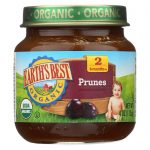 Earths Best 1945492 4 oz Stage 2 Organic Prunes - Case of 12