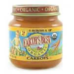 Earths Best Baby Foods BG12463 Earths Best Baby Foods Baby Carrots - 12x4OZ