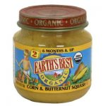 Earths Best Baby Foods BG12468 Earths Best Baby Foods Baby Crn-Bnt Sqsh - 12x4OZ