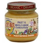 Earths Best Baby Foods BG12471 Earths Best Baby Foods Baby Pch-Oat-Ban - 12x4OZ