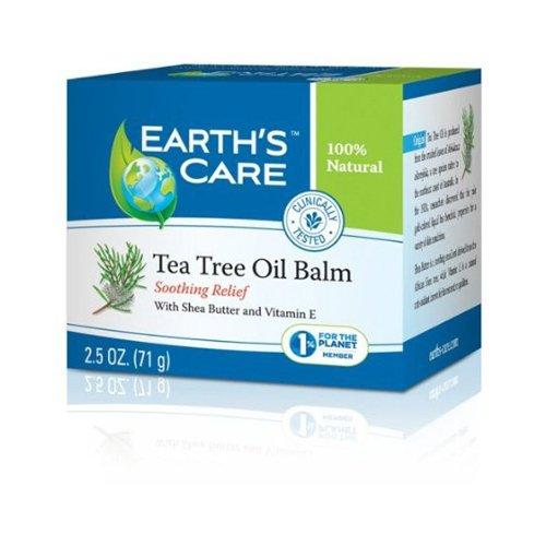 Earths Care 1216217 Tea Tree Oil Balm 2.5 oz