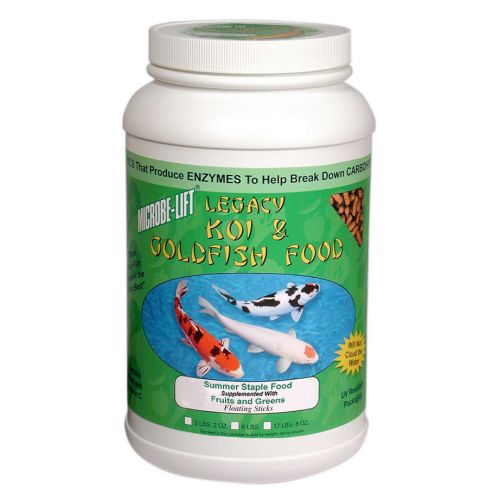 Eco Labs ECLMLLFGMD Eco Labs MLLFGMD Fruits and Greens Koi and Goldfish Food 2-Pound