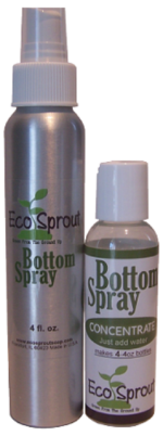 Eco Sprout ECOSPSPCON-2 Eco Sprout Bottom Spray Concentrate with Aluminum Spray Bottle