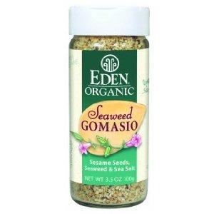 Eden Foods Seaweed Gomasio Sesame Salt 3.5 Oz