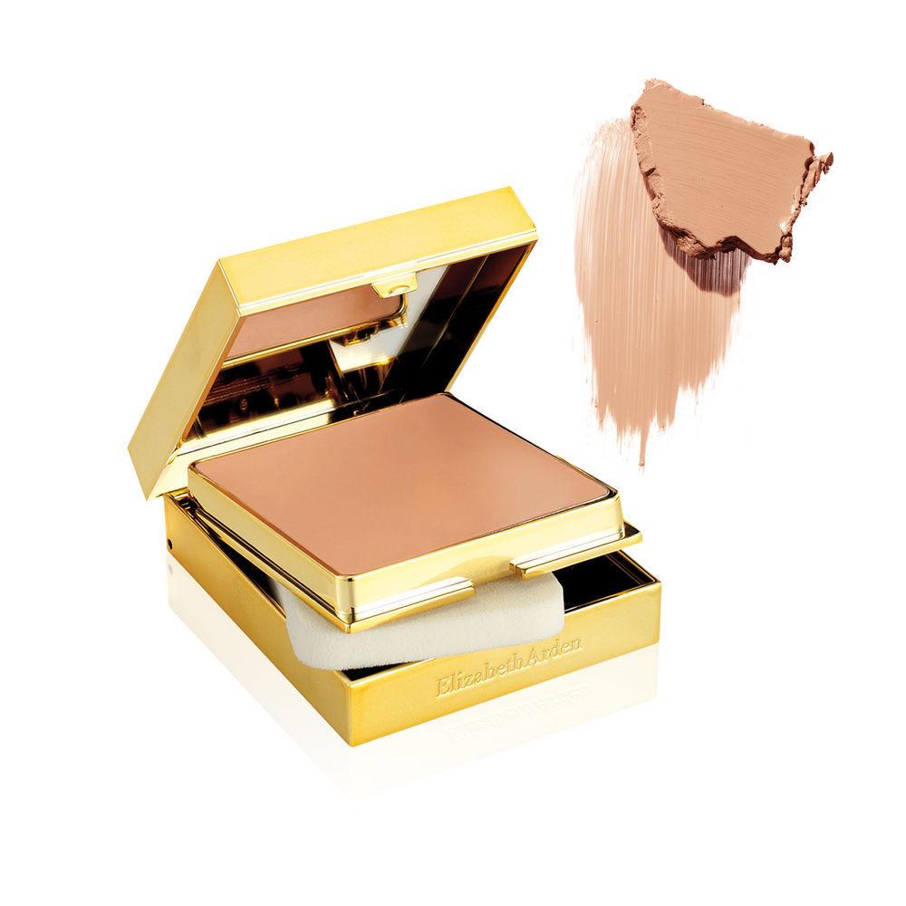 Elizabeth Arden EA18 Cool Palette Choice Mini Makeup Set in Beige & Gold Satchel