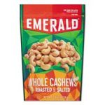 Emerald 93364 Emerald Roasted & Salted Cashew Nuts - 5 oz.