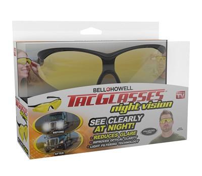 Emson 237054 Tac Glasses Men Women Polarized Bell & Howell Military Sunglasses