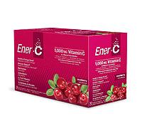 Ener-C 1000 Mg. Vitamin C Effervescent Drink Mix Cranberry