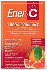 Ener-C 1275239 Vitamin Tangerine Grapefruit Drink Mix 1000 mg - Pack of 30
