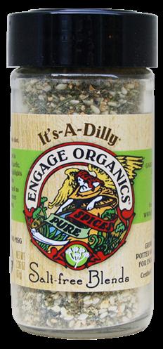 Engage Organics IAD 50 2.36 oz. Its-A-Dilly Salt-Free Blends