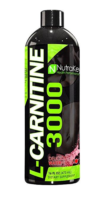 Europa Sports Products 6150120 Liquid L-Carnitine 3000 - Watermelon 31 Servings