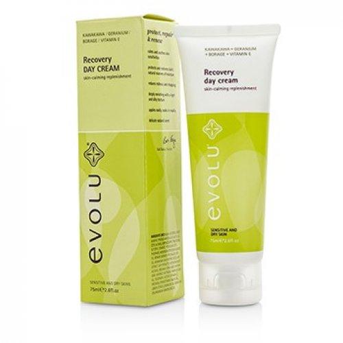 Evolu 192677 Recovery Day Cream for Sensitive & Dry Skin 75 ml-2.6 oz