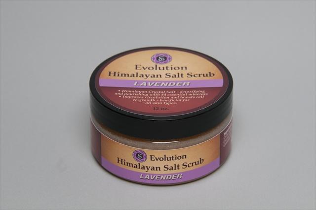Evolution Salt SC-LAV Himalayan Salt Scrub - Lavender