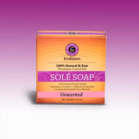 Evolution Salt UNS-45 Unscented Bath Soap