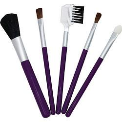 Exceptional Parfums 286821 Because You Are Travel Makeup Brush Set 5 Piece