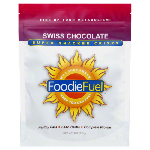 FOODIE FUEL SNACK FUEL SWSS CHOC ORG-4 OZ -Pack of 6