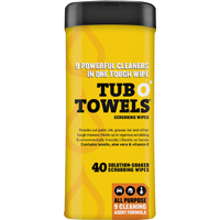 Federal Process Ora TW40 Tub O-Towels Clean Wipes 40 Count