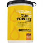 Federal Process Ora TW90 Tub O-Towels Clean Wipes 90 Count