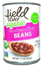 Field Day 1787035 15 oz Organic Ranchero Chili Beans - Case of 12